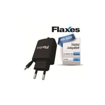 Flaxes Fta-502s Flaxes 5v 2a 14w Tablet Adaptörü Siyah Şarj Cihazları
