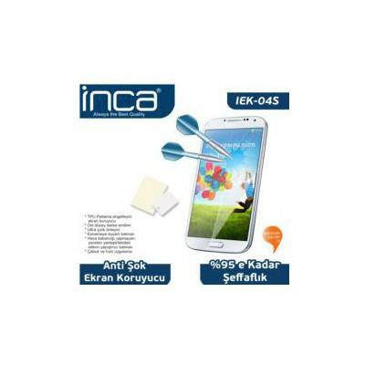 Inca Iek-04s Samsung Galaxy S4 Uyumlu Çizilmez Ant-şok Şeffaf Ekran Koruyucu Ekran Koruyucu Film