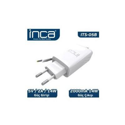 Inca Its-05b 5v 2a Universal Tablet Şarj Adaptörü Beyaz Renk Şarj Cihazları
