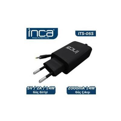 Inca Its-05s 5v 2a Universal Tablet Şarj Adaptörü Siyah Renk Şarj Cihazları