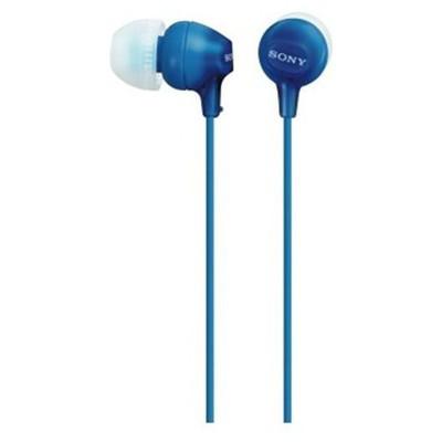 Sony Mdrex15_mavı Silikonlu Kulak Içi Kulaklık Mavi Kulak İçi Kulaklık
