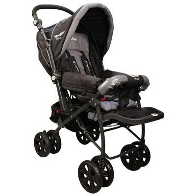 Mcrae Mc 750 Comfort Çift Yönlü Lux Bebek Arabası - Siyah