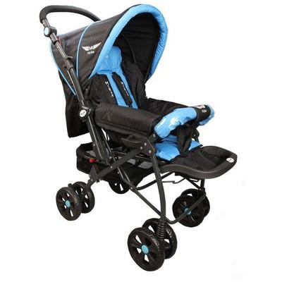 Mcrae Mc 750 Comfort Çift Yönlü Lux Bebek Arabası - Mavi Bebek Güvenliği