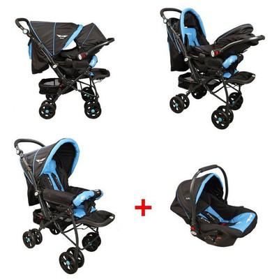 Mcrae Mc 750t Comfort Travel Sistem Çift Yönlü Lux Bebek Arabası - Mavi