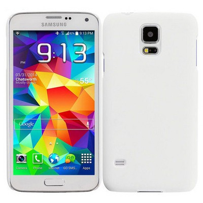 Microsonic Premium Slim Samsung Galaxy S5 Mini Kılıf Beyaz Cep Telefonu Kılıfı