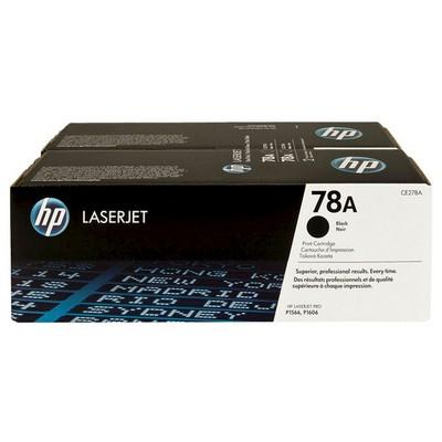HP CE278AF 78A LaserJet Siyah 2'li Toner