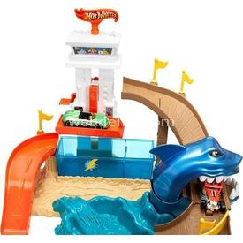 Hot Wheels Renk Değiştiren Araçlar Sharky Oyun Seti Erkek Çocuk Oyuncakları