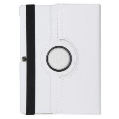 Microsonic 360 Rotating Stand Deri Samsung Galaxy Tab S 10.5 T800 Kılıf Beyaz Tablet Kılıfı