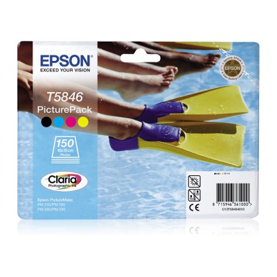 Epson C13t58464020 Picturepack 4-Coloured T5864 Kartuş