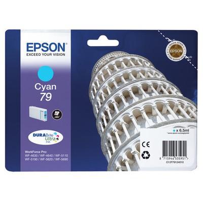 Epson Singlepack Cyan 79 DURABrite Ultra Ink