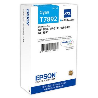 Epson T7892 Mavi Kartuş