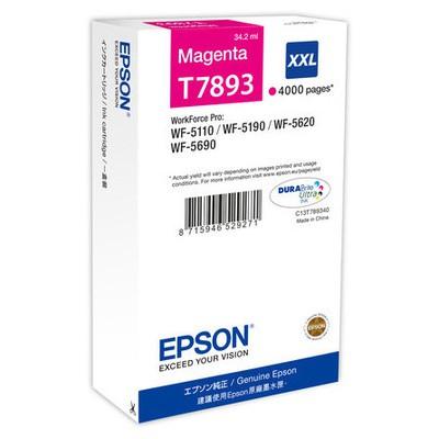 Epson T7893 Kırmızı Kartuş