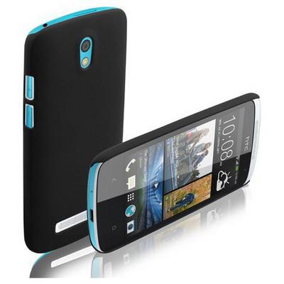 Microsonic Premium Slim Htc Desire 500 Kılıf Siyah Cep Telefonu Kılıfı