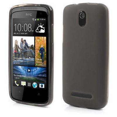 Microsonic Glossy Soft Htc Desire 500 Kılıf Siyah Cep Telefonu Kılıfı