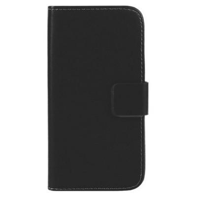 Microsonic Cüzdanlı Deri Alcatel One Touch Idol X Kılıf Siyah Cep Telefonu Kılıfı