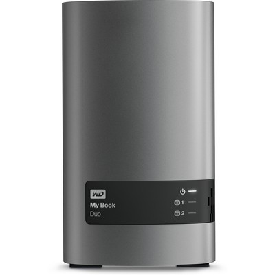 WD 6TB My Book Duo Harici Disk (WDBLWE0060JCH)