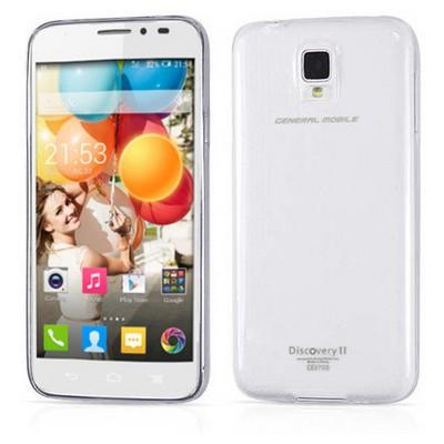 Microsonic Clear Soft Şeffaf General Mobile Discovery2 Kılıf Cep Telefonu Kılıfı