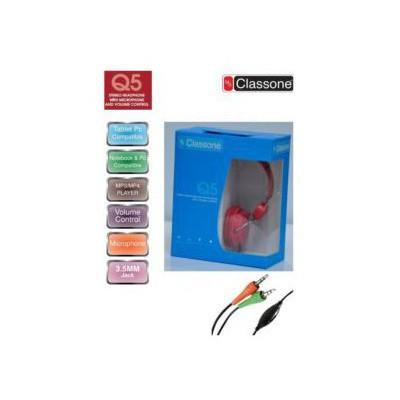 Mila Classone Ml-q5 Red Kafabantlı Mıkrofonlu Kulaklık Kafa Bantlı Kulaklık
