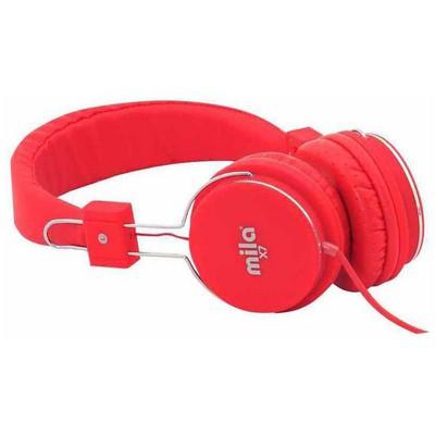 Mila Ml-x7-red X7 Serisi Universal Telefon & Pc Uyumlu Kulaklık Mikrofonlu Kafa Bantlı Kulaklık