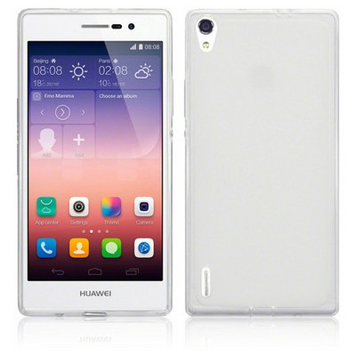 Microsonic Huawei P7 Clear Soft Şeffaf Kılıf Cep Telefonu Kılıfı