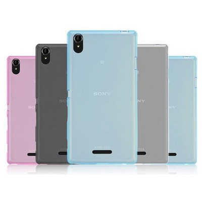 Microsonic Transparent Soft Sony Xperia T3 Kılıf Pembe Cep Telefonu Kılıfı