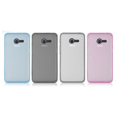Microsonic Glossy Soft Asus Zenfone 4 Kılıf Beyaz Cep Telefonu Kılıfı