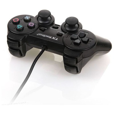 TX Easyshot 12 Tuş/titreşim/analog/dijital Gamepad Gamepad / Joystick