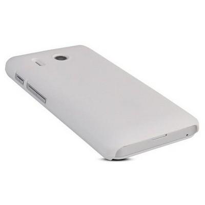 Microsonic Premium Slim Huawei Ascend Y320 Beyaz Cep Telefonu Kılıfı