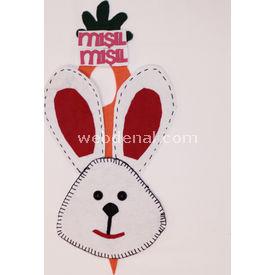 Handan Tavşan Kapı Süsü