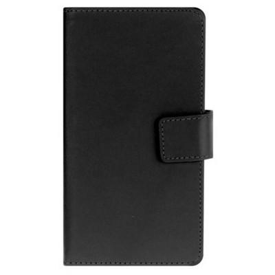 Microsonic Cüzdanlı Deri Htc Desire 516 Kılıf Siyah Cep Telefonu Kılıfı