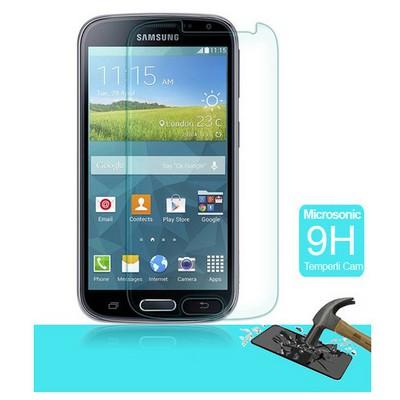 Microsonic Temperli Cam Ekran Koruyucu Samsung Galaxy K Zoom Film Ekran Koruyucu Film