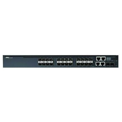 Dell Dn3024f-3pnbd Dell Networking N3024f, L3, 24x1gbe Sfp, 2xcombo, 2x 10gbe Sfp+ Fixed Switch