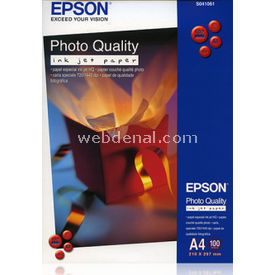 Epson C13s041061 Photoqualıty Ink Jet Paper,a4,1440dpı,100syf.102g Kağıt