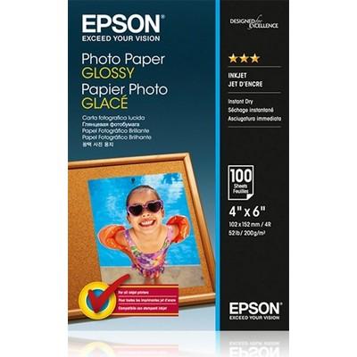 Epson C13s042548 Photo Paper Glossy 200 G,10 X 15cm,100 Sayfa Fotoğraf Kağıdı