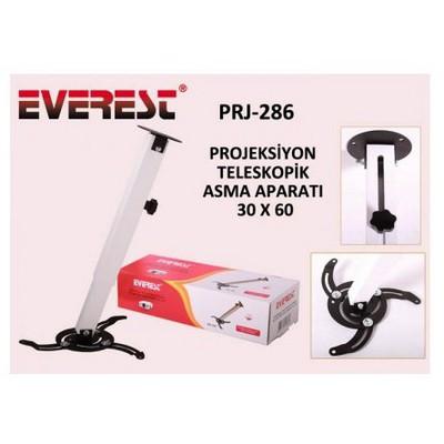 Everest PRJ-286 30-60cm 360-45 derece 13kg Teleskopik Projeksiyon Askı Aparatı Projeksiyon Aksesuarı
