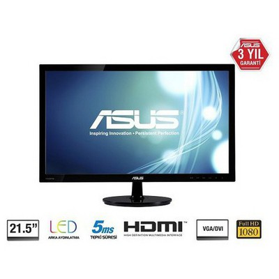 "Asus VS228HR 21.5"" Full HD Profesyonel Monitör"