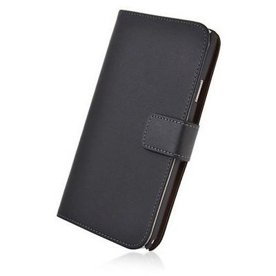Microsonic Cüzdanlı Deri Samsung Galaxy Note 4 Kılıf Siyah Cep Telefonu Kılıfı