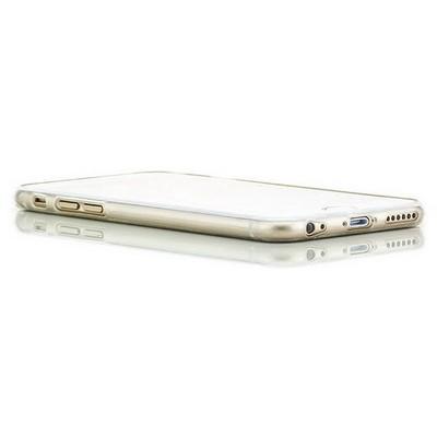 Microsonic Slim Transparent Soft Iphone 6 (4.7'') Kılıf Beyaz Cep Telefonu Kılıfı