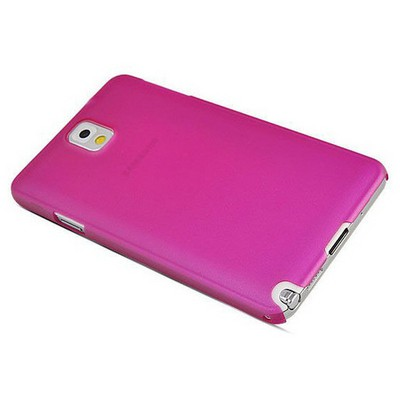 Microsonic Ultra Thin 0.2mm Kılıf Samsung Galaxy Note3 N9000 Pembe Cep Telefonu Kılıfı