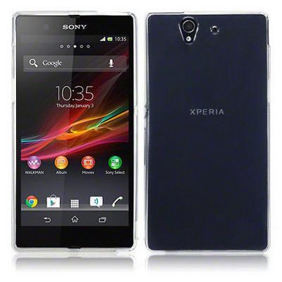 Microsonic Sony Xperia Z Clear Soft Şeffaf Kılıf Cep Telefonu Kılıfı