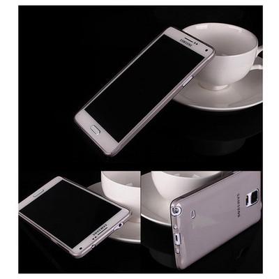 Microsonic Transparent Soft Samsung Galaxy Note 4 Kılıf Siyah Cep Telefonu Kılıfı