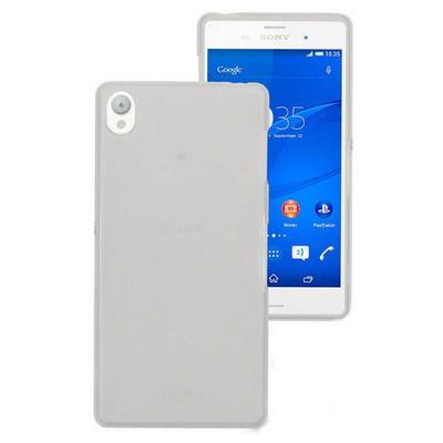 Microsonic Transparent Soft Sony Xperia Z3 Kılıf Beyaz Cep Telefonu Kılıfı