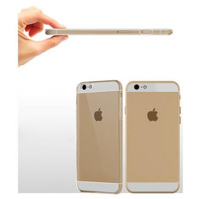 Microsonic Kristal Şefffaf Iphone 6 Plus (5.5) Kılıf Cep Telefonu Kılıfı