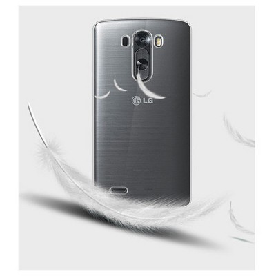 Microsonic Kristal Şefffaf Lg G3 S (g3 Mini, G3 Beat) Kılıf Cep Telefonu Kılıfı