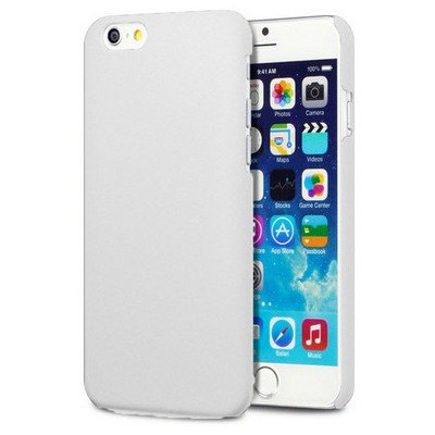 Microsonic Premium Slim Iphone 6 (4.7'') Kılıf Beyaz Cep Telefonu Kılıfı