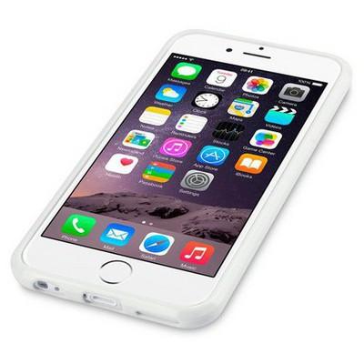 Microsonic Glossy Soft Iphone 6 (4.7'') Kılıf Beyaz Cep Telefonu Kılıfı