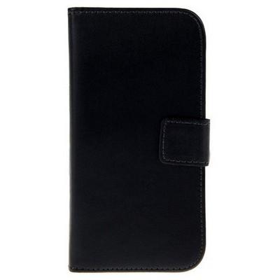 Microsonic Cüzdanlı Deri Iphone 6 (4.7'') Kılıf Siyah Cep Telefonu Kılıfı