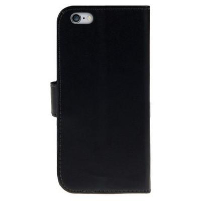 Microsonic Cüzdanlı Deri Iphone 6 Plus (5.5'') Kılıf Siyah Cep Telefonu Kılıfı