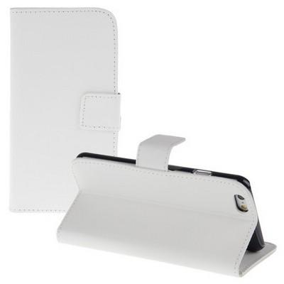 Microsonic Cüzdanlı Standlı Deri Iphone 6 (4.7'') Beyaz Cep Telefonu Kılıfı