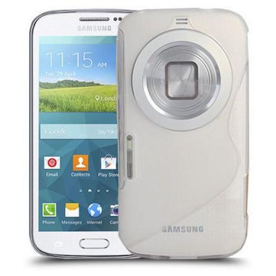Microsonic S-line Soft Samsung Galaxy K Zoom Kılıf Şeffaf Cep Telefonu Kılıfı
